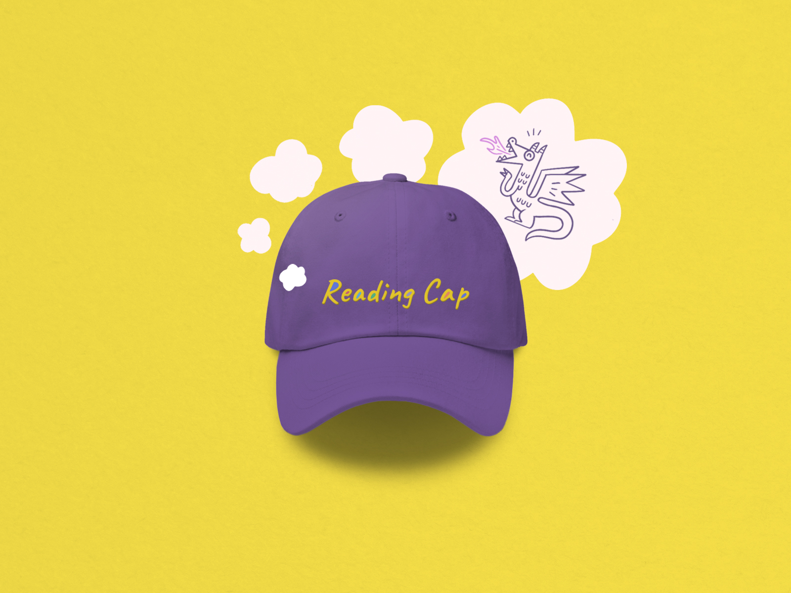 hat design for joyful literacy brand identity design
