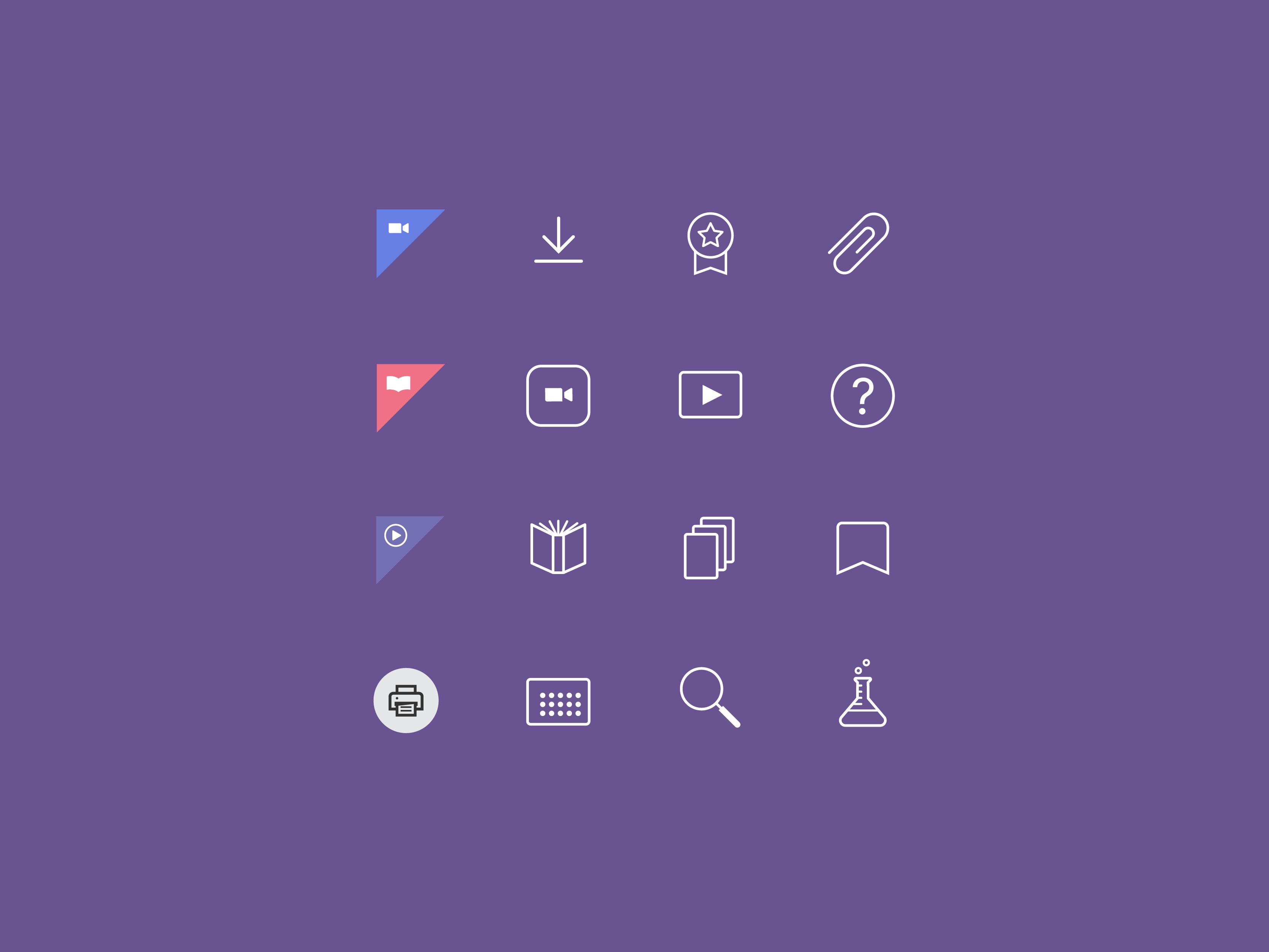 icon design for joyful literacy brand identity design