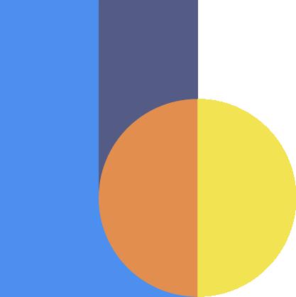 Graphic logo design for Lucas Bell Graphic Designer in Victoria BC Canada