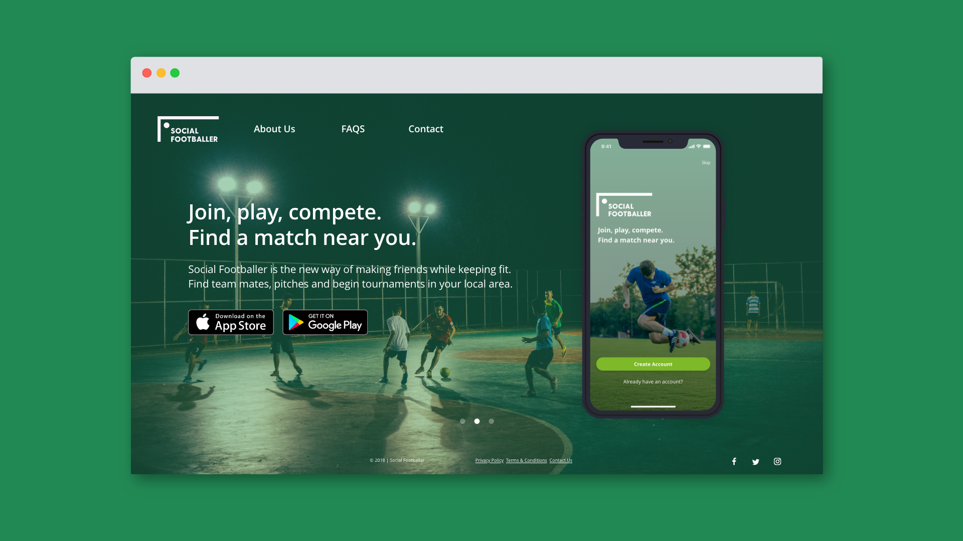 Listn Collaborative Music App UI Web Design