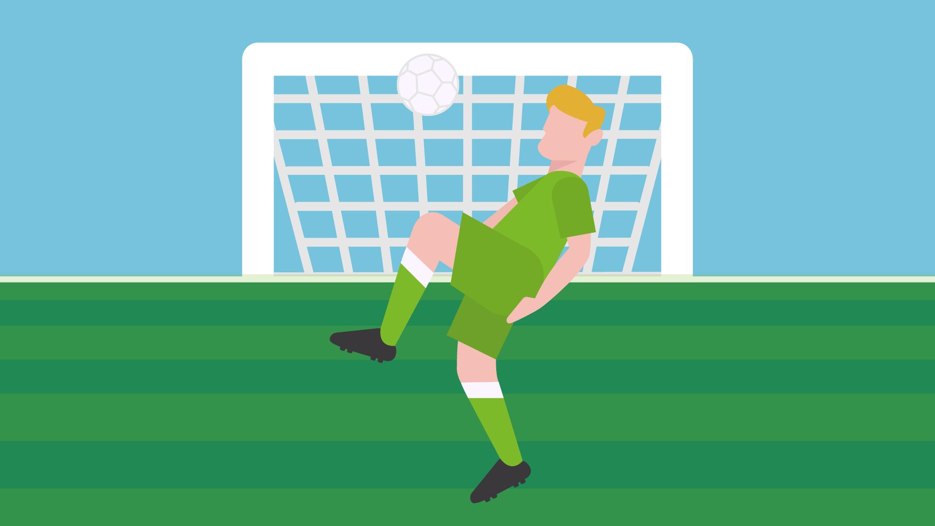 Social Football App Illustration