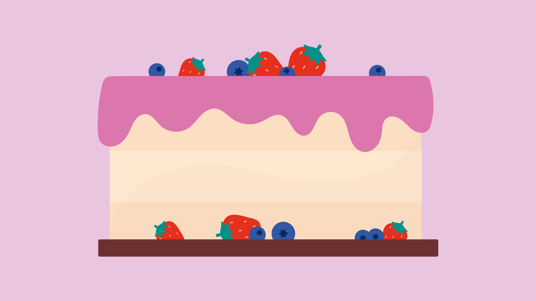 Glazed and Confused Liverpool based Cake Decoration Illustration