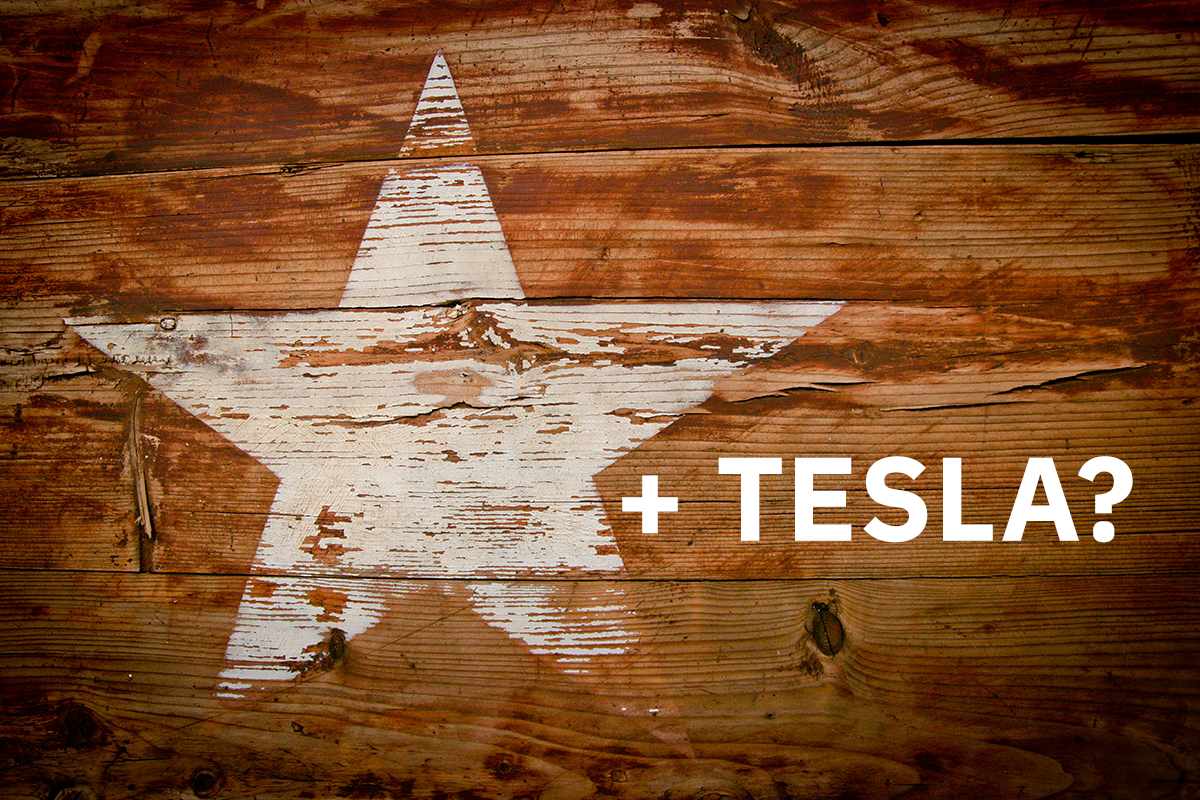 Is TESLA a star graphic