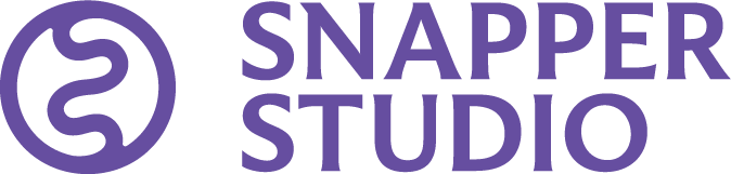 Snapper Studio logo in purple, in a PNG file format