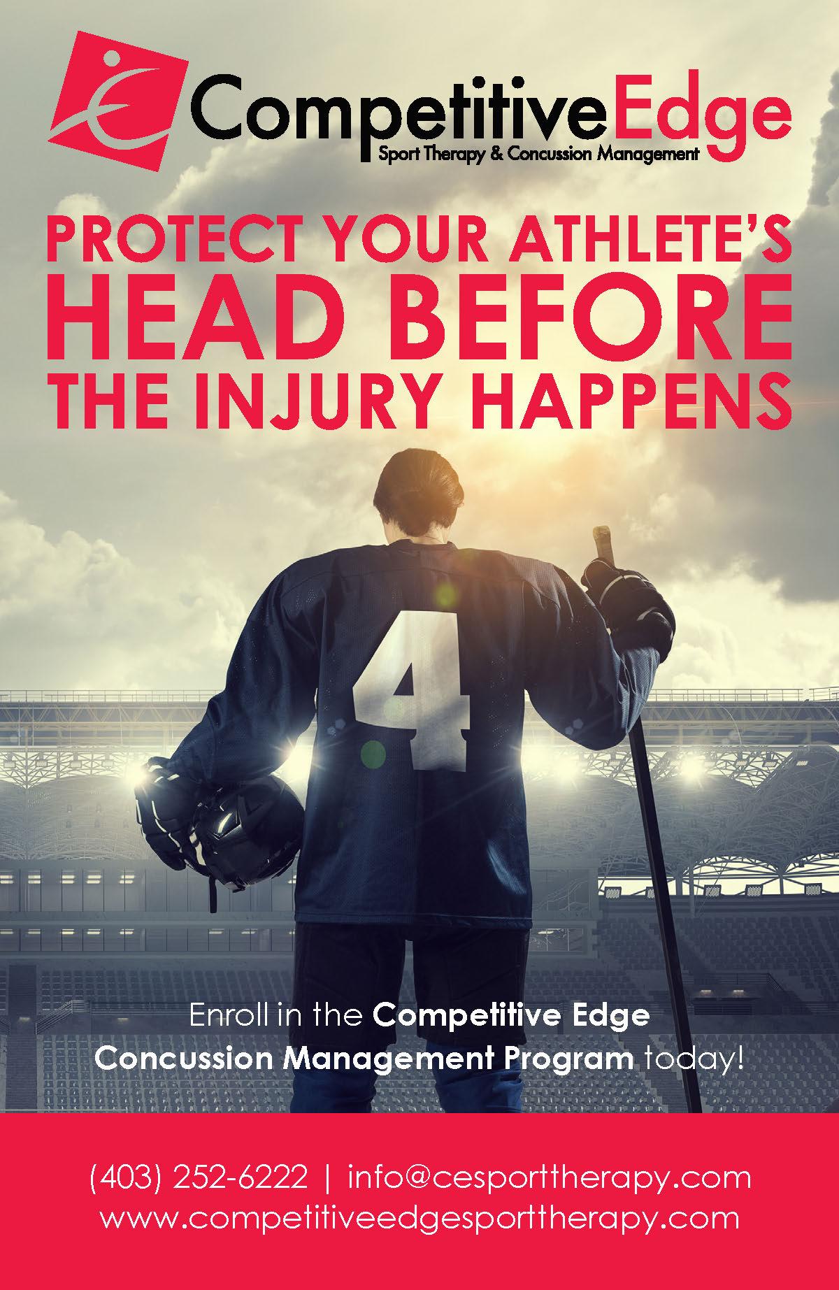 Competitive Edge Concussion Management Campaign