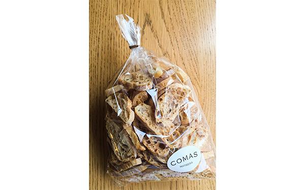 Tostaditas elaboradas con nuestro pan. Bolsa de 140 gr.