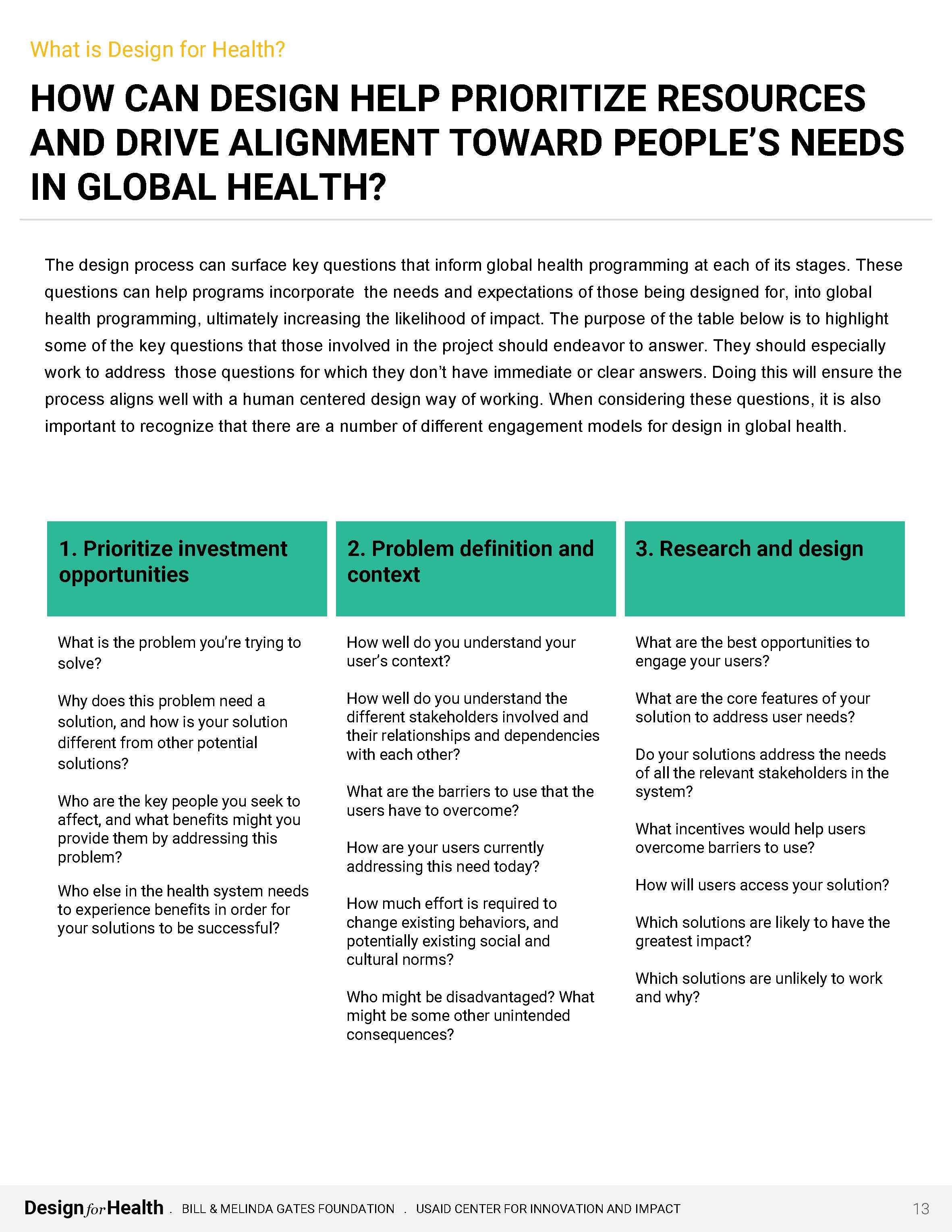 Preview of PDF Document entitled What is Design for Health?
