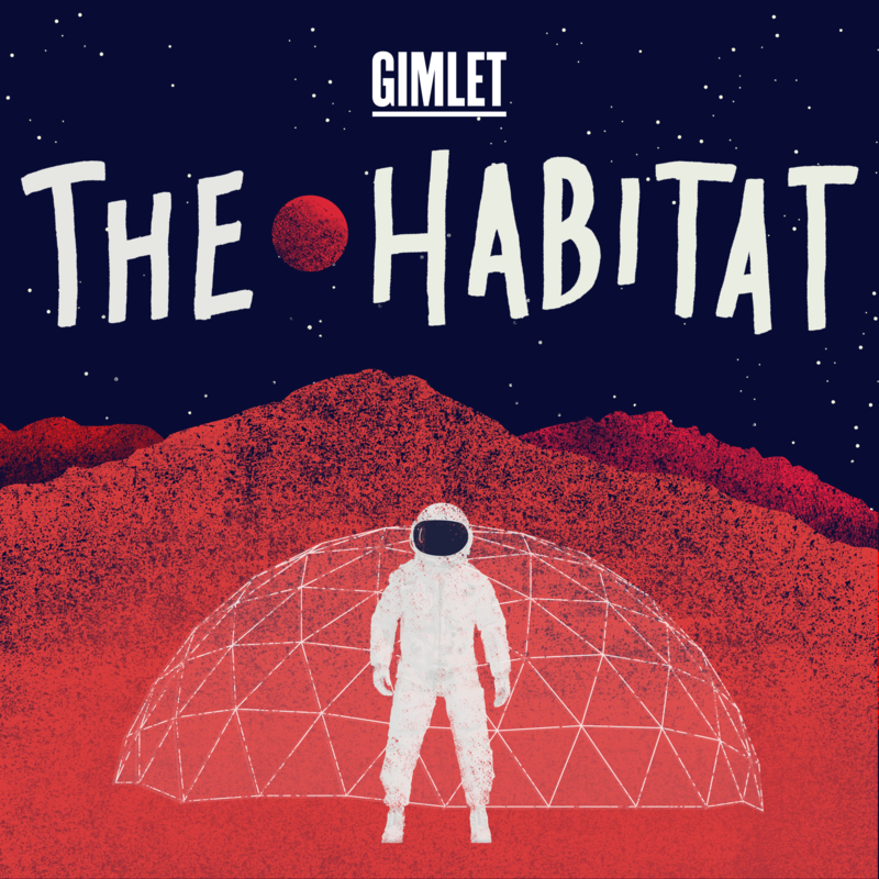 Gimlet The Habitat logo