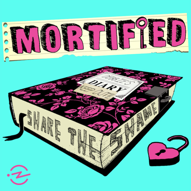 The Mortified Podcast logo