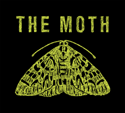 The Moth Podcast Logo