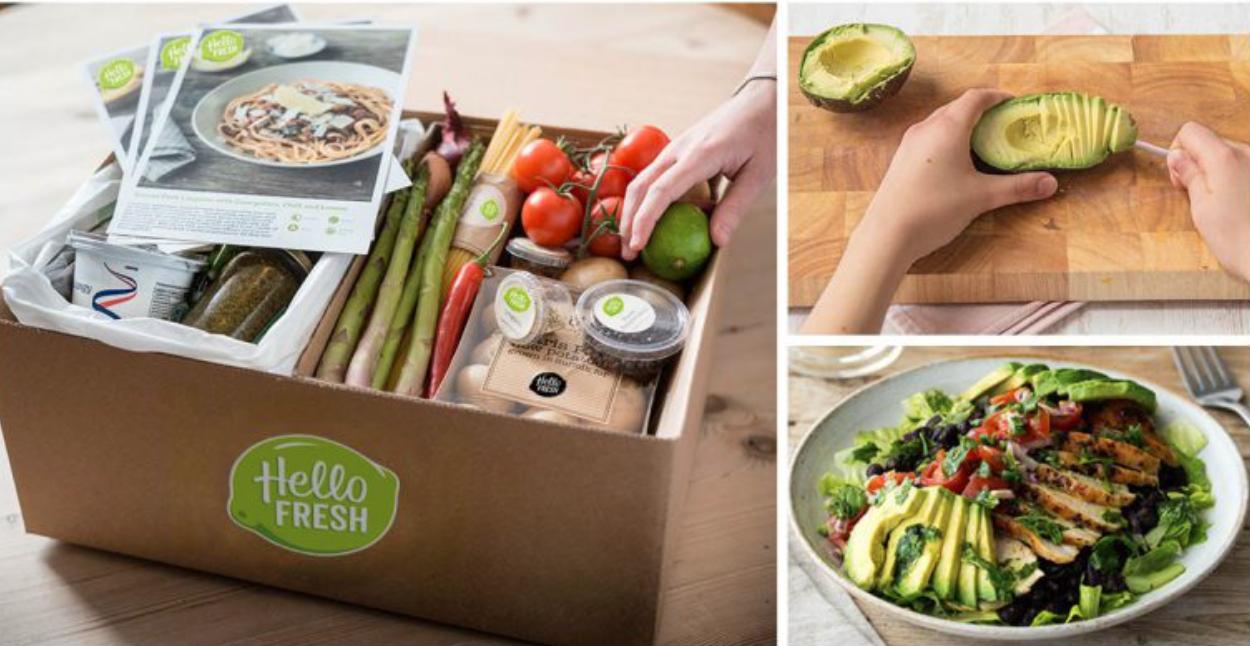 HelloFresh Food Delivery Box