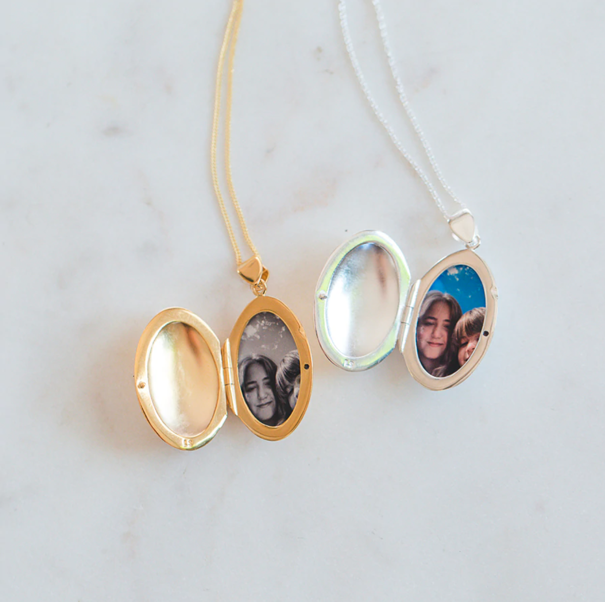 Gold and Silver Lockets