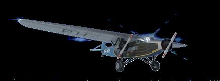 Het vliegtuig de snip
