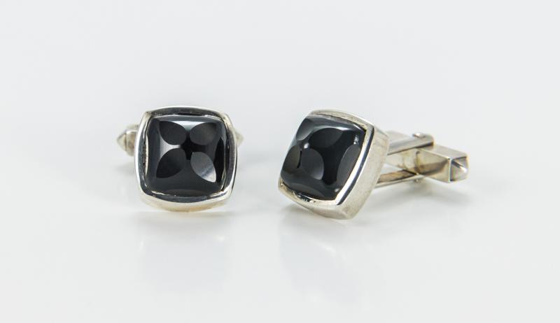 925 Silber / Onyx