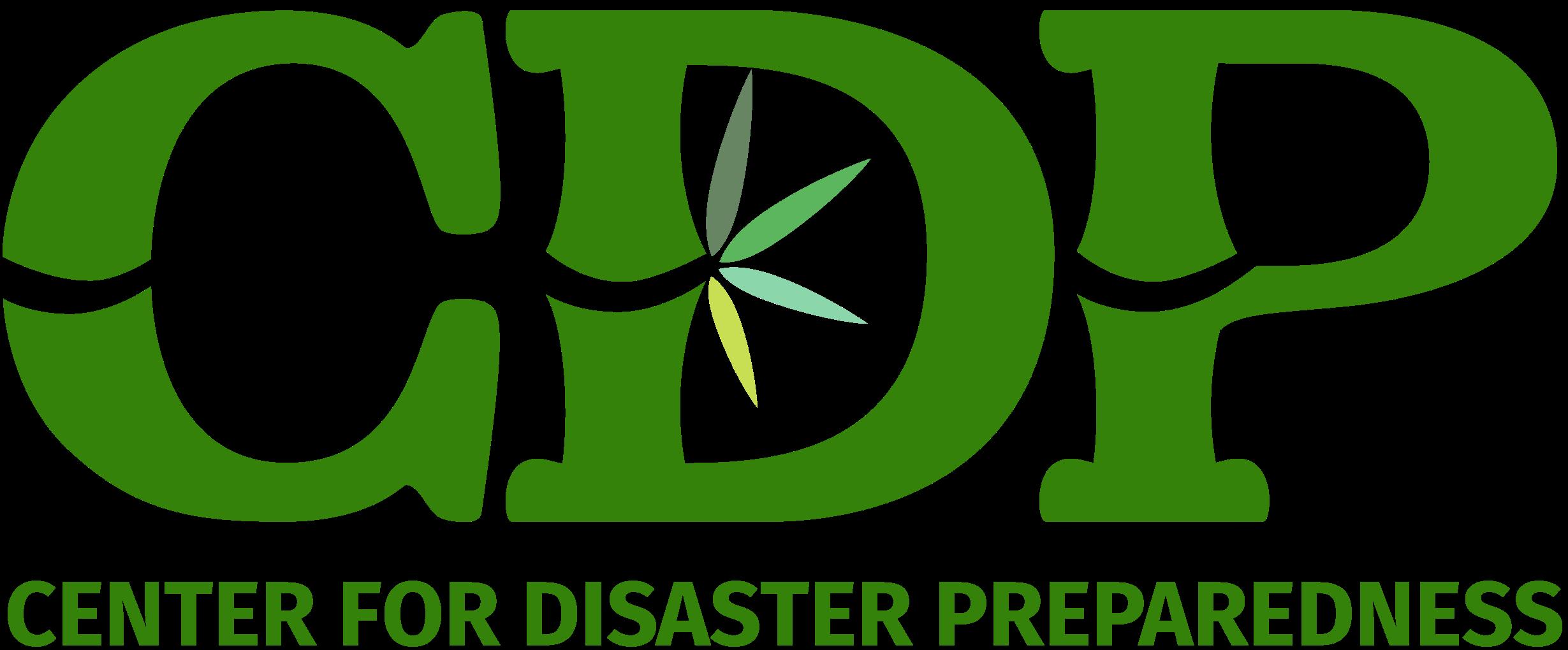 CDP Center for Disaster Preparedness Logo