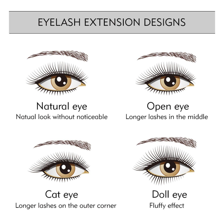 Eyelash Extension Designs