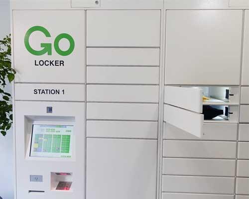 Marijuana pickup locker