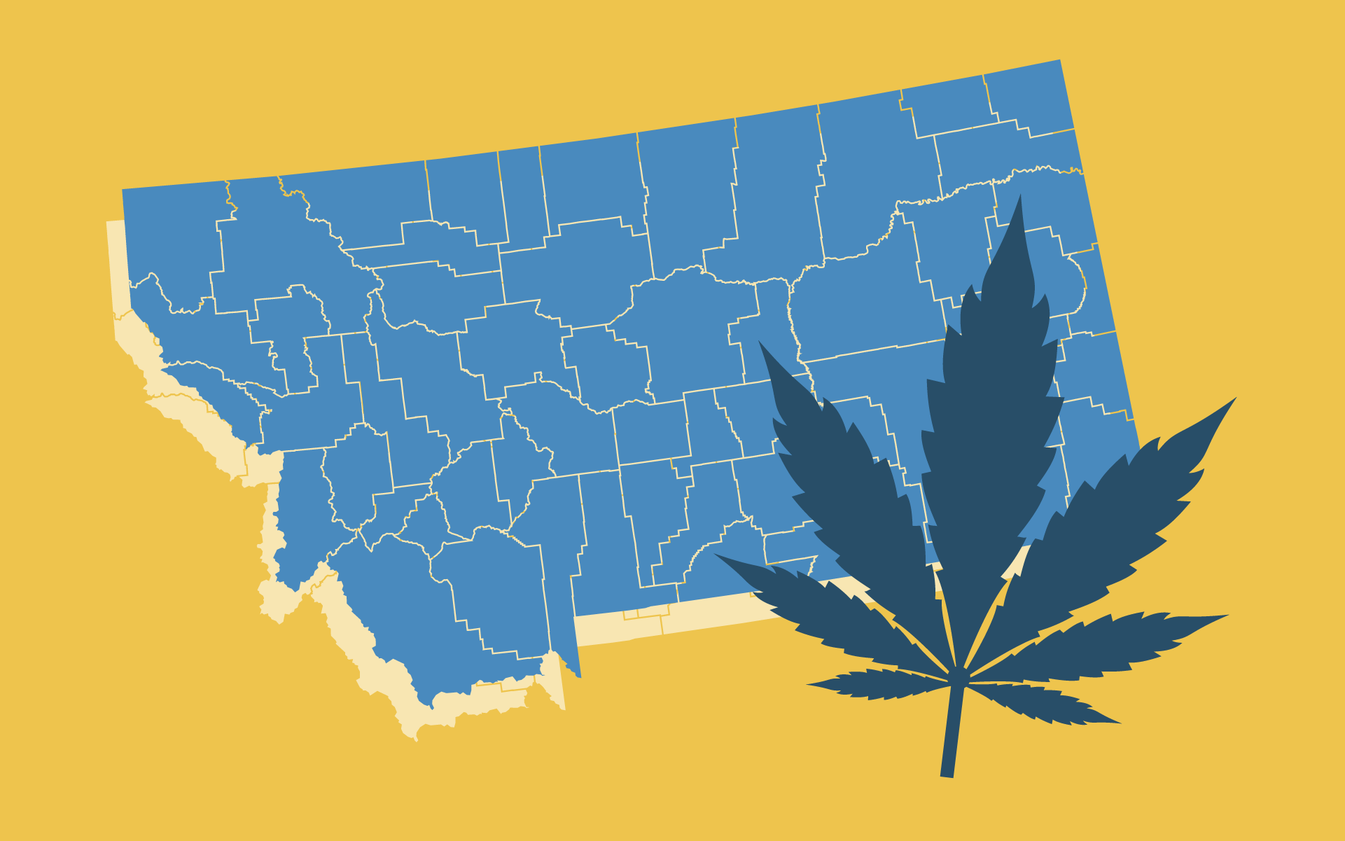 As of June 2nd, 2020 the Big Sky is un-tethering for medical marijuana patients around the state. Anyone with a MMMP card can now shop at any licensed dispensary inside the state lines and buy cannabis products.
