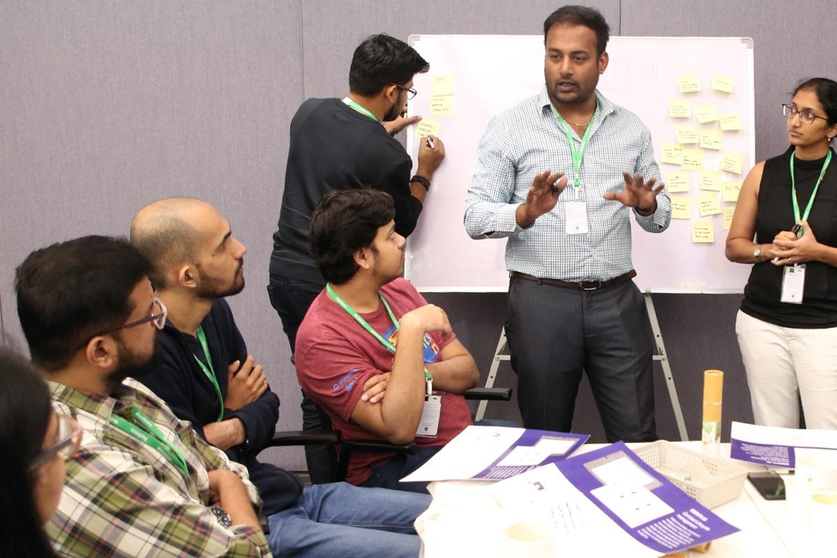 Design for bharat team discussion session