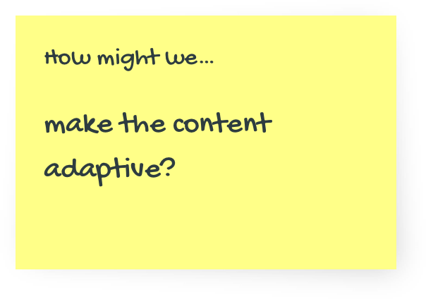 Design Sprint - How Might we