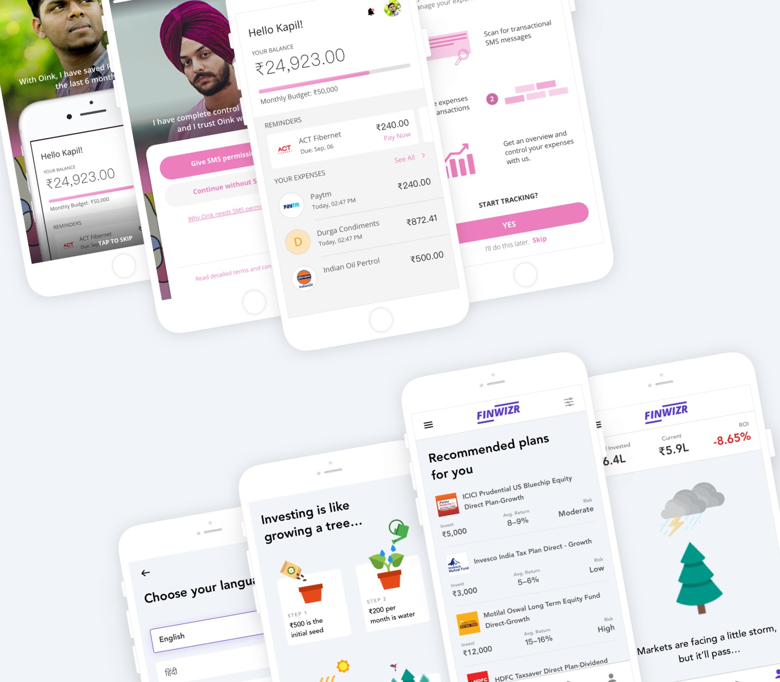 Design for bharat, facebook ttc labs prototypes by various teams