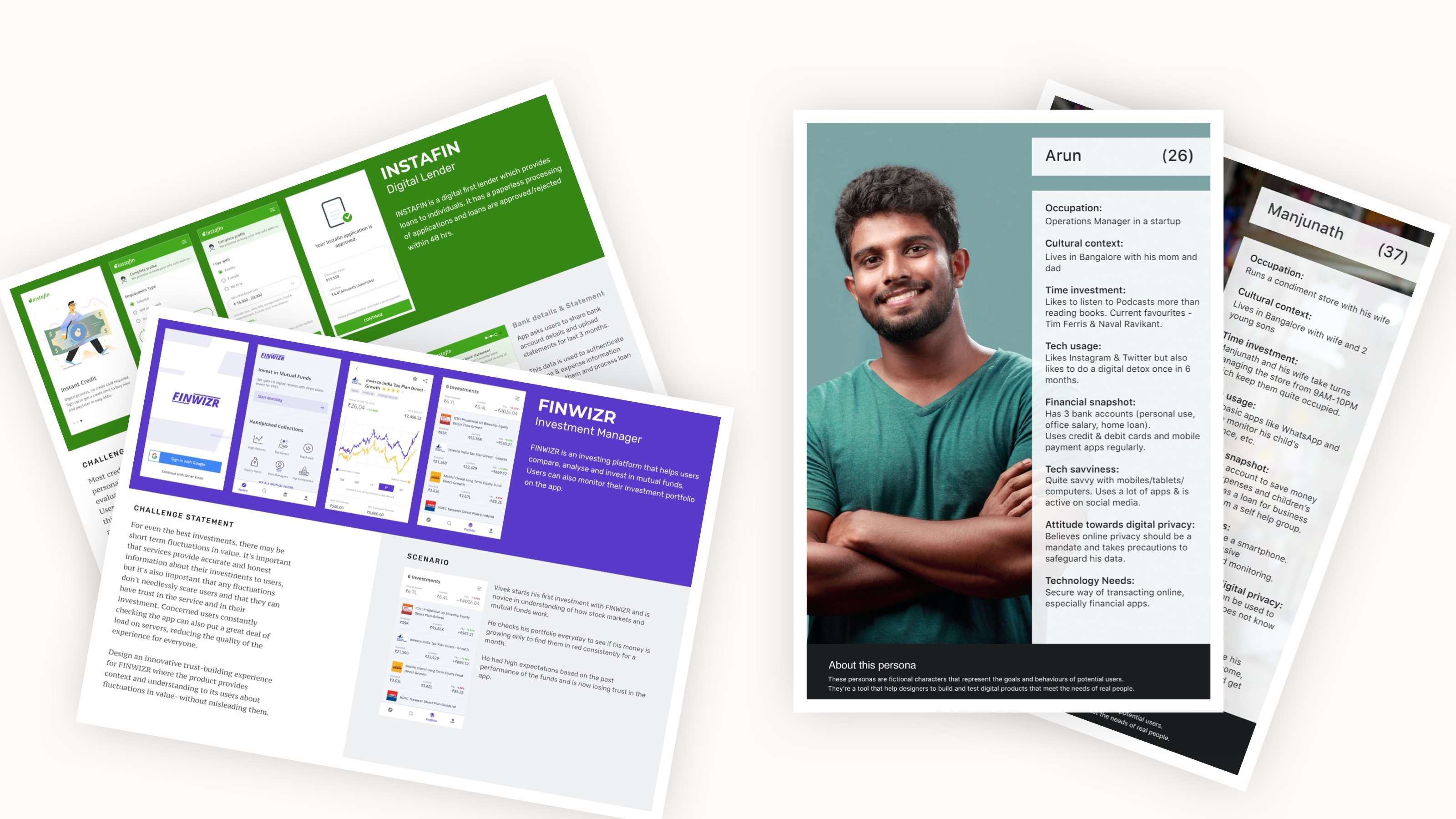 Design for bharat, user research and user persona