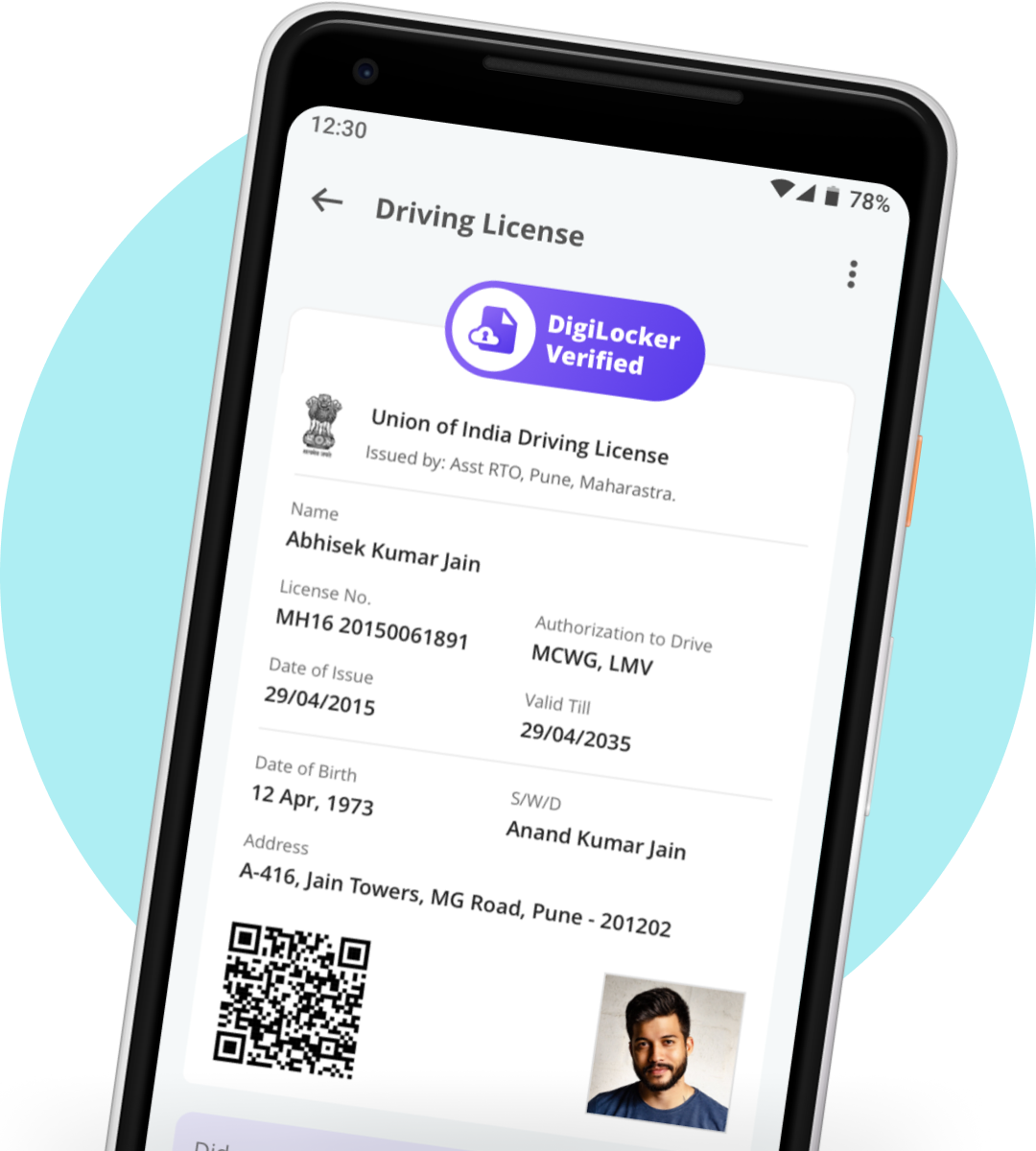 Digilocker app UI UX Design