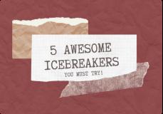 ice breakers for design sprint
