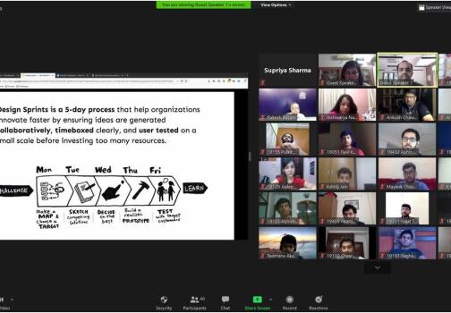 IIMA Design sprint session