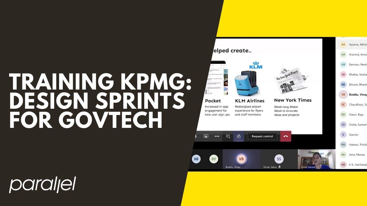 KPMG design sprint
