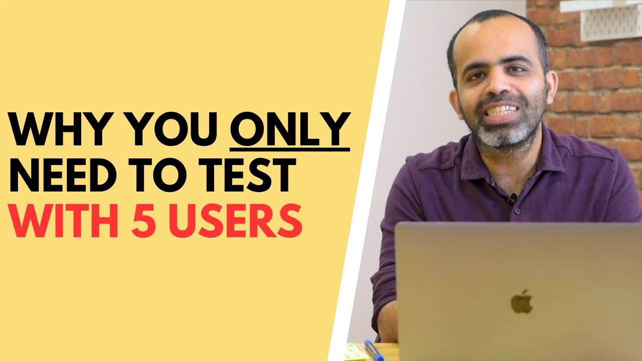 5 user testing