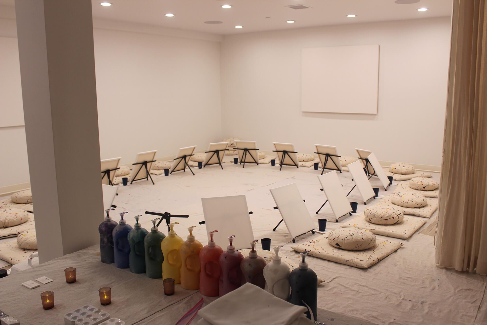 mindful art workshop