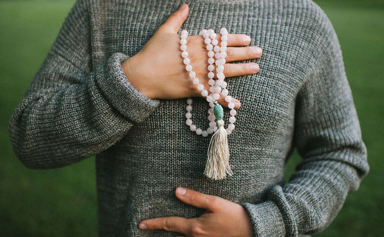 Discover the craft of mala making during this month of love!