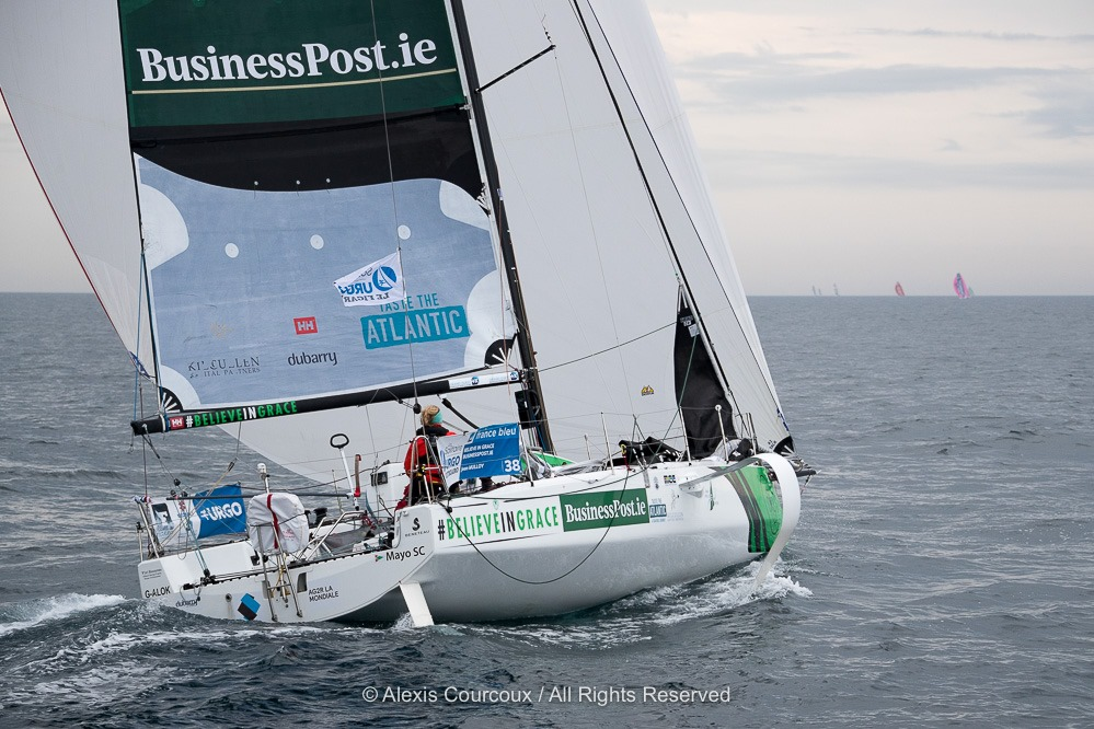Competing in the 2019 Solitaire du Figaro