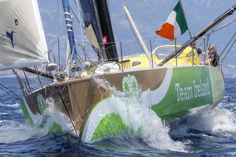 Team Ireland IMOCA 60 in 2018 Monaco Globe Series