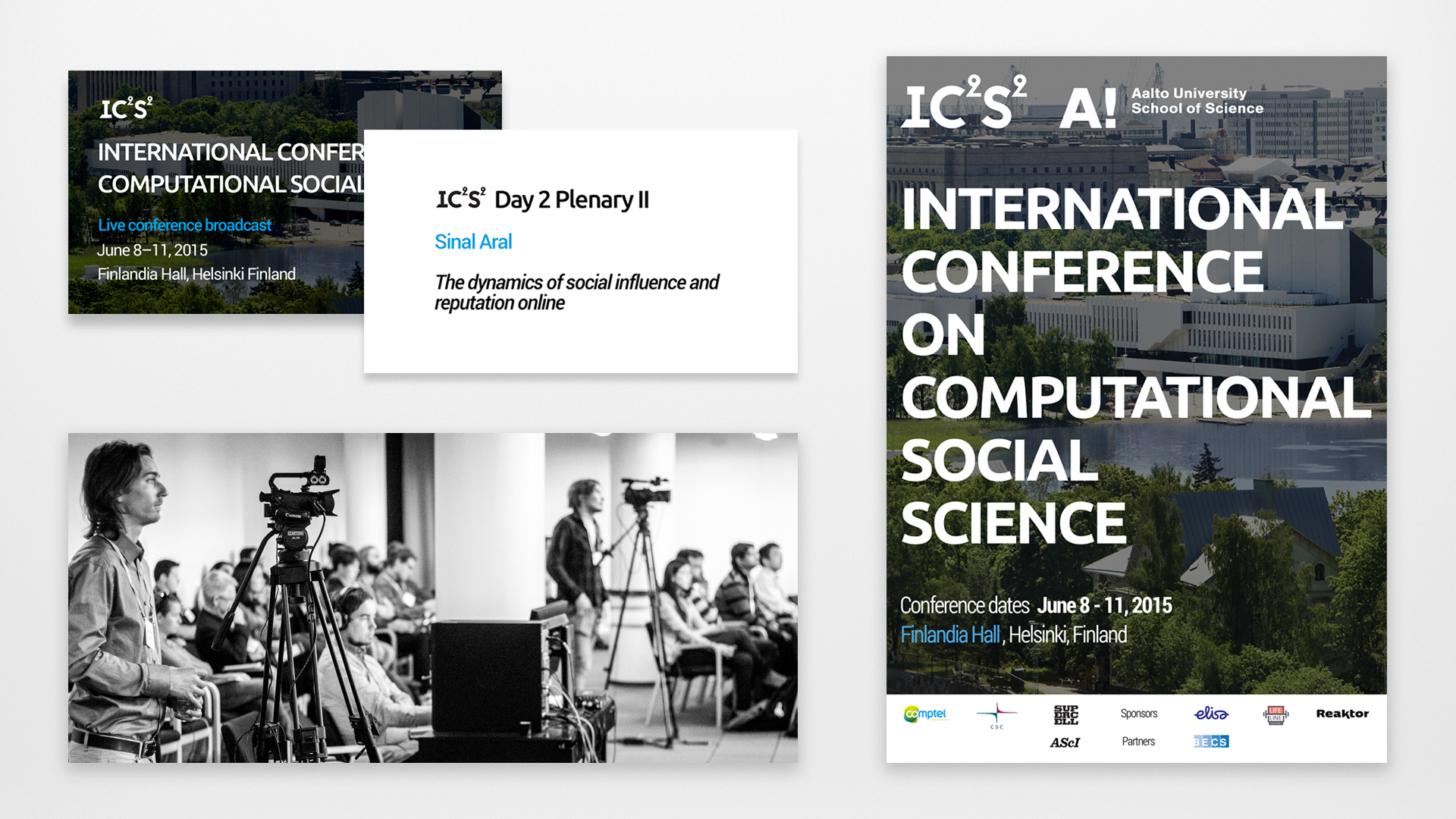 International conference on computational social science IC2S2 live stream