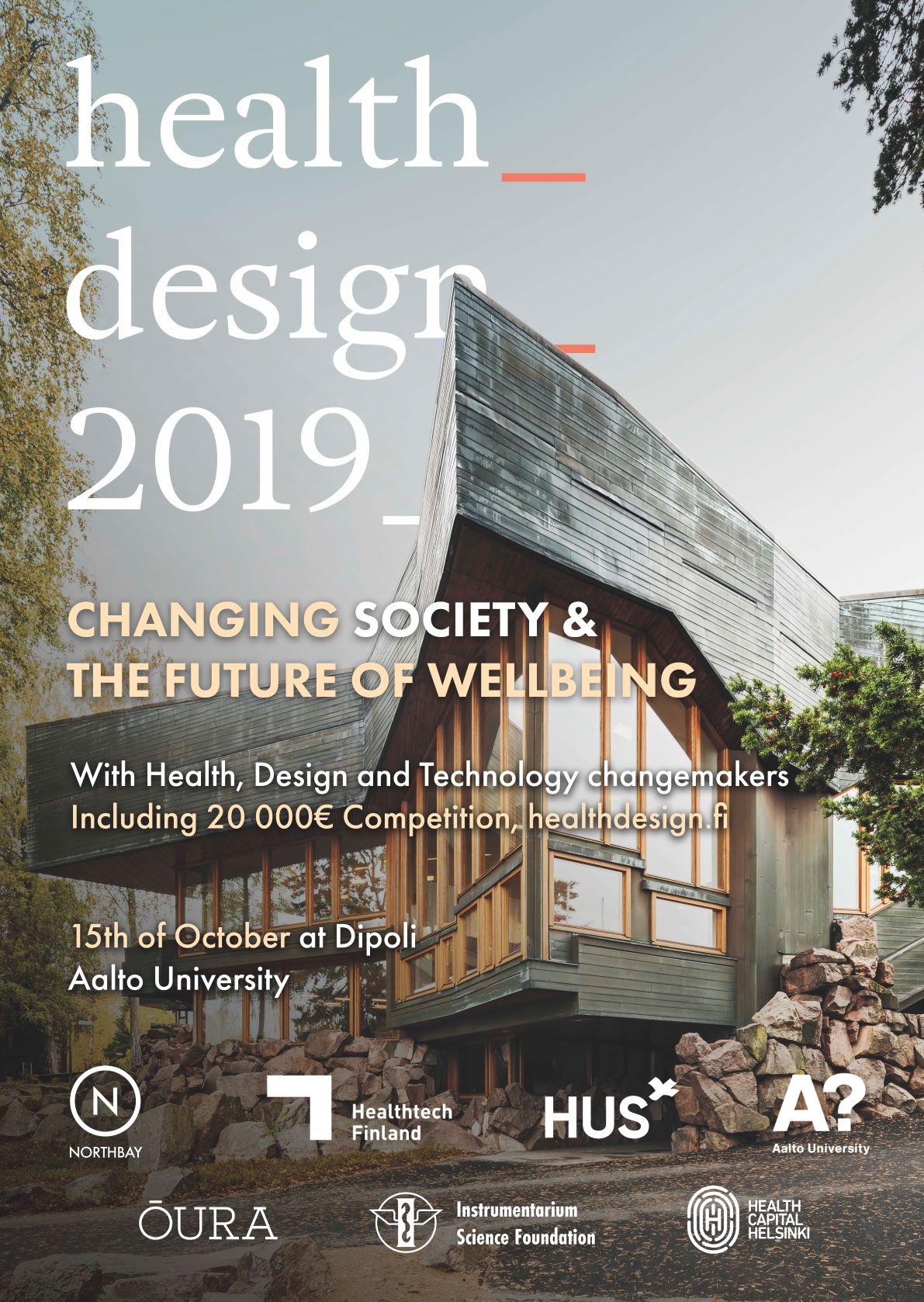 Health Design Poster design with Dipoli Architecture
