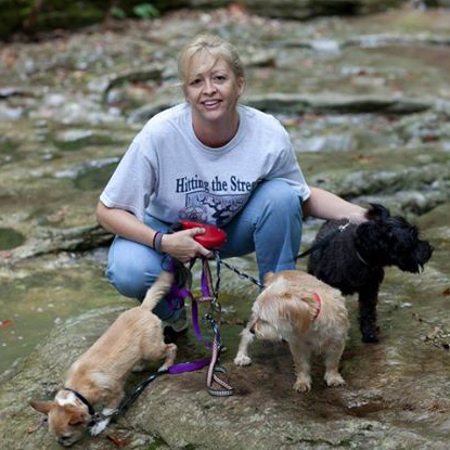 Sherry Wemple of Andy's Paw Prints