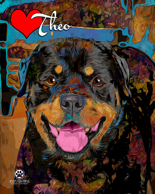 Andy's Paw Prints Pet Portraits