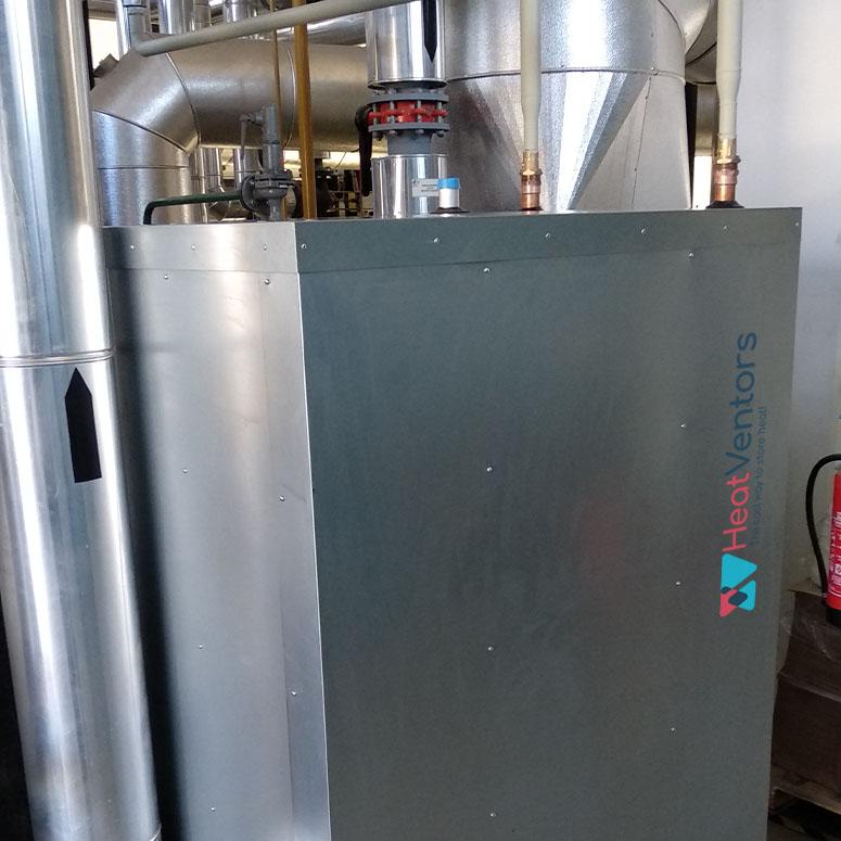 HeatTank in operation, HeatTank is working, Heatventors