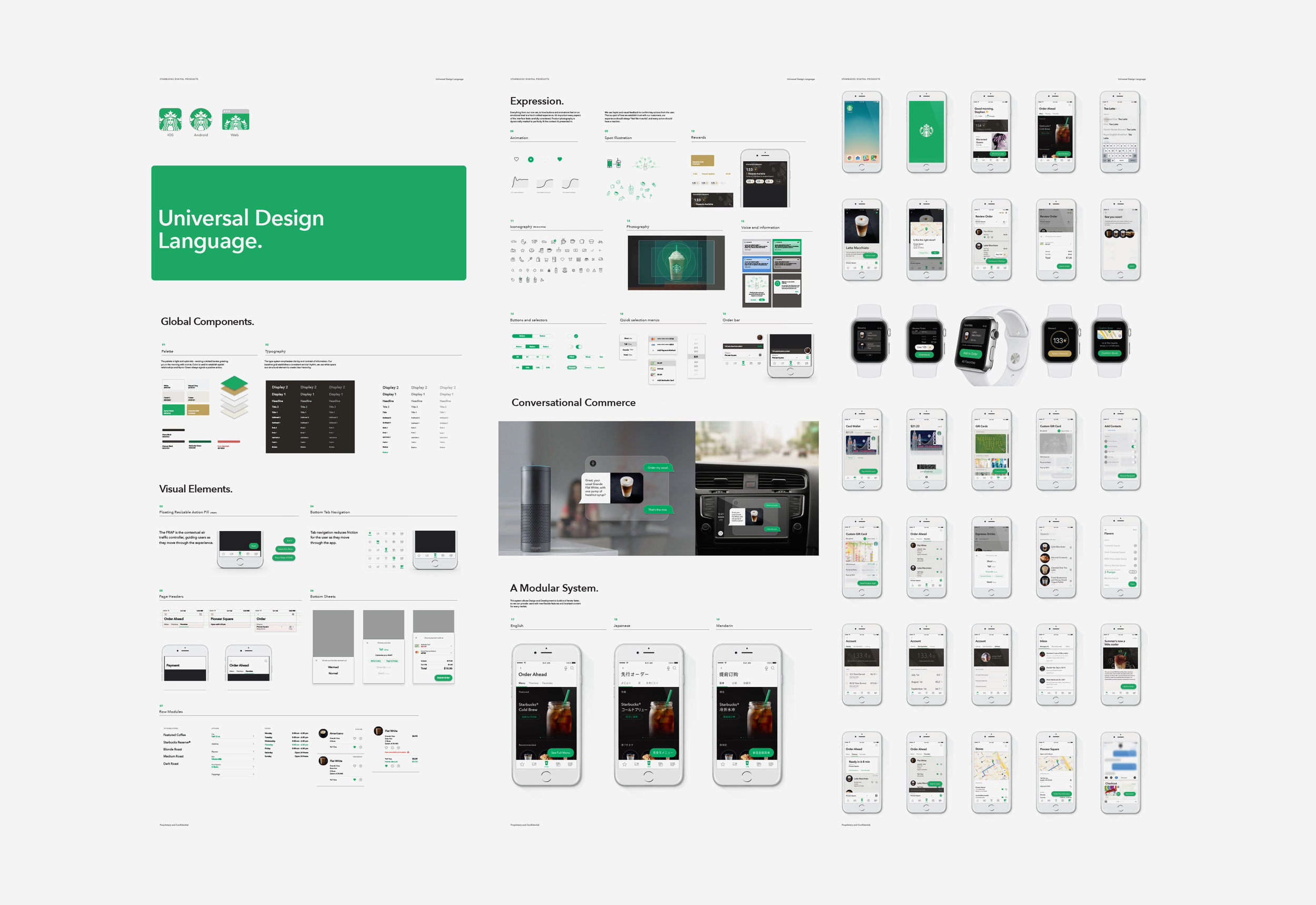 Image of Starbucks Digital Design language