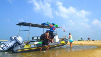 Kitesafari RIB boat