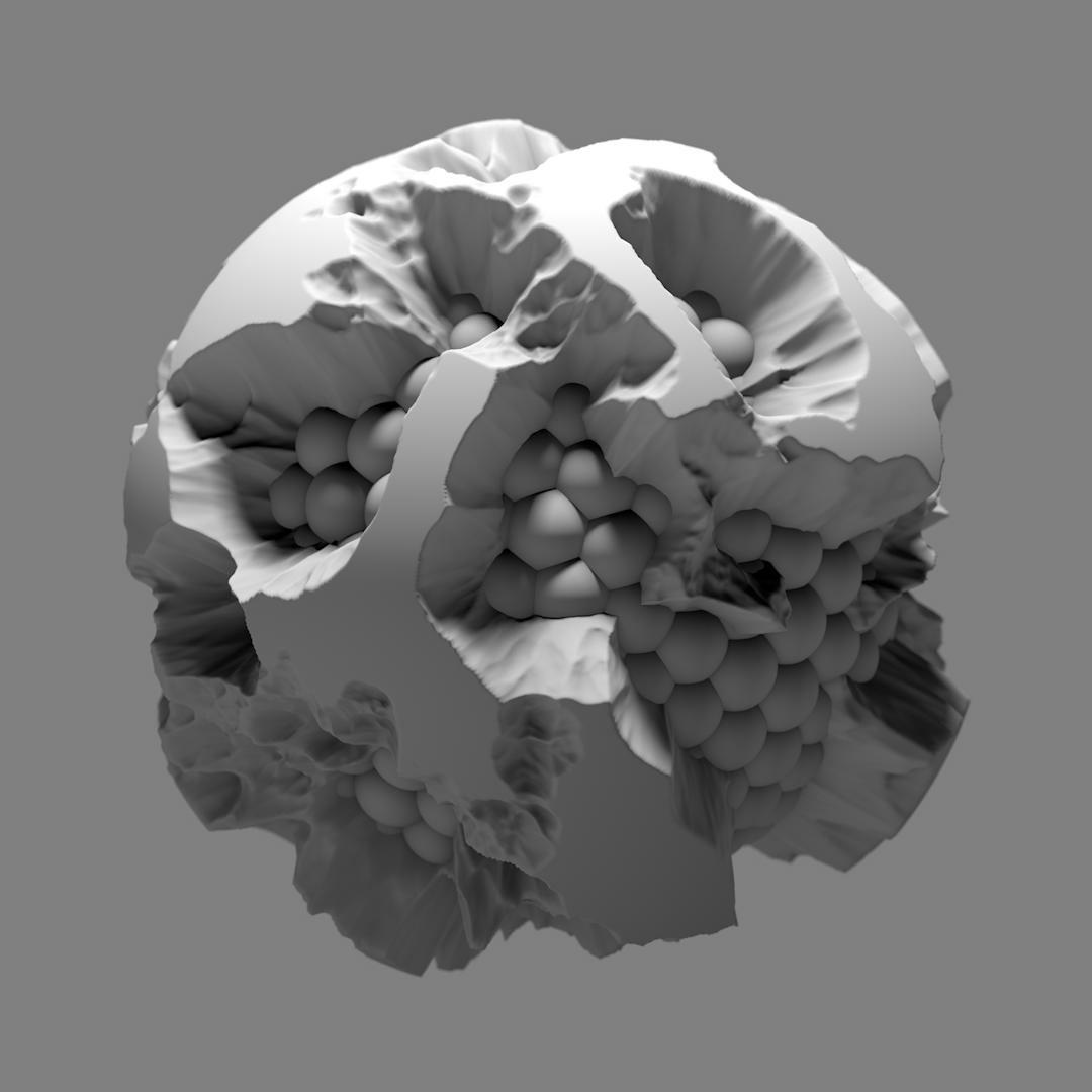 3D rendered orb