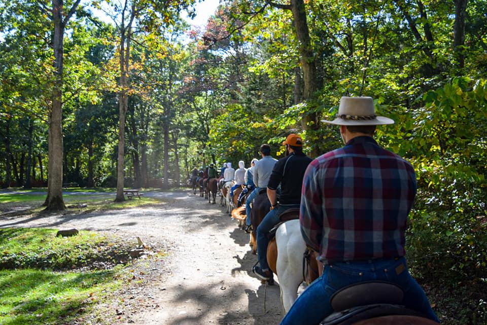 Horseback Riding Guided Trails