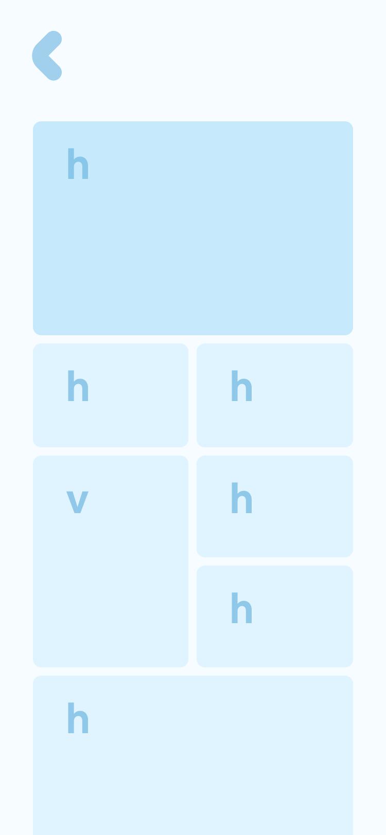 Scrolling grid