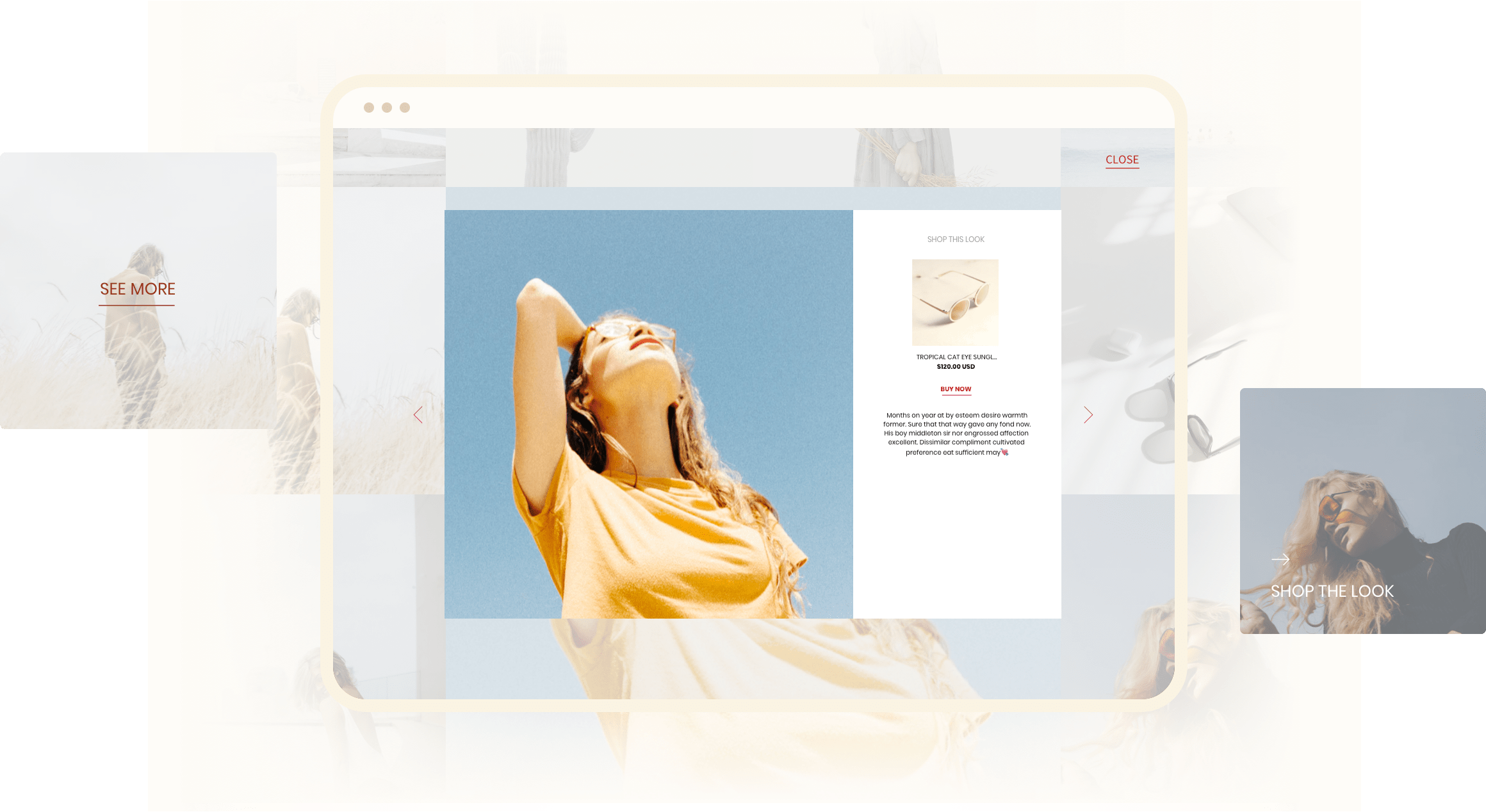 Hover and popup style 1