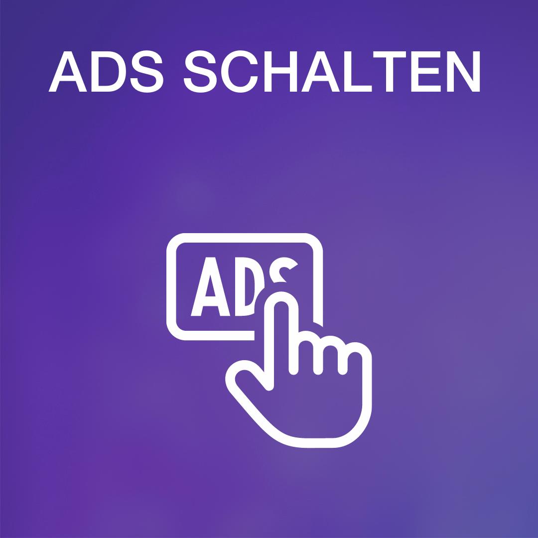 Grafik Bezhalte Werbung schalten