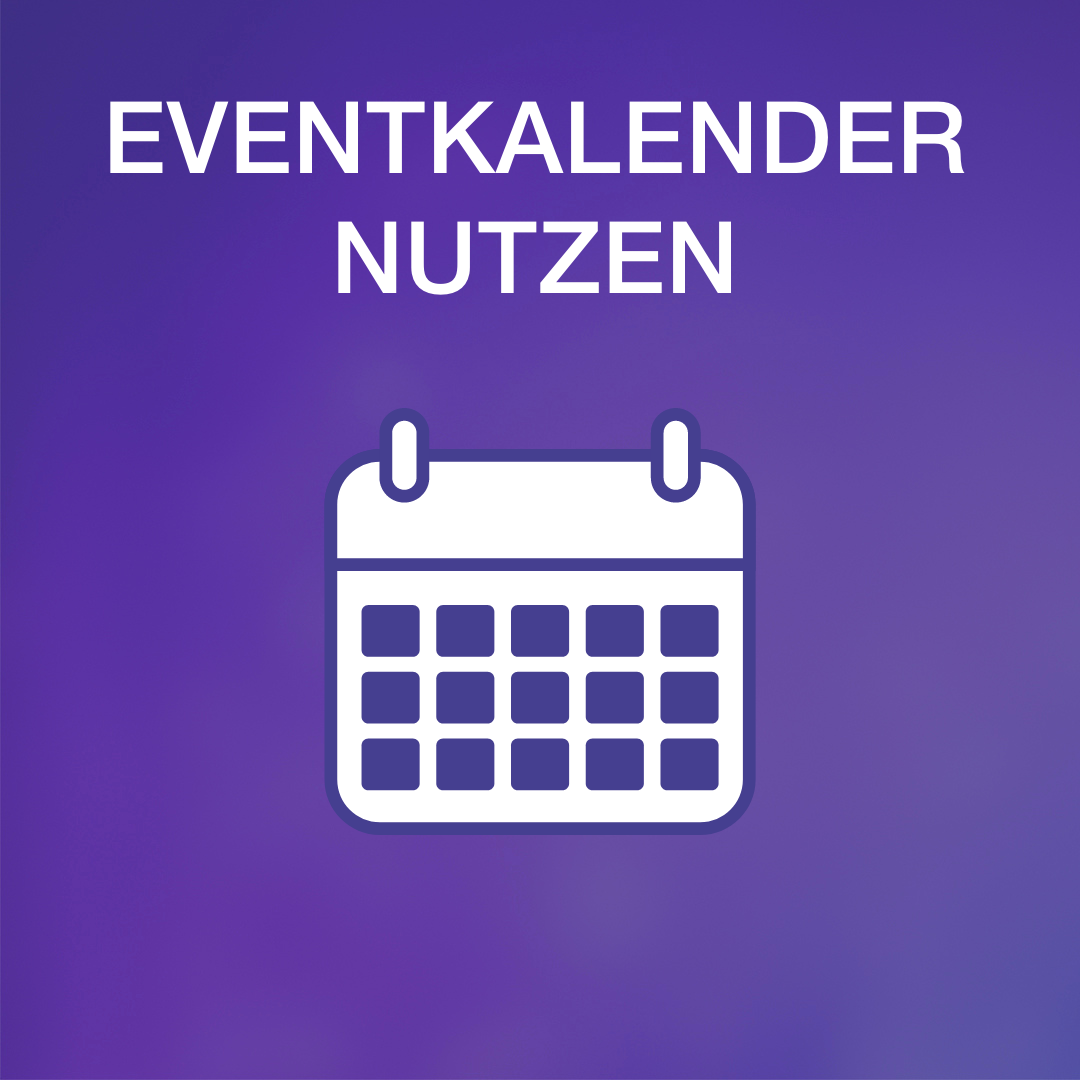 Grafik Eventkalender nutzen