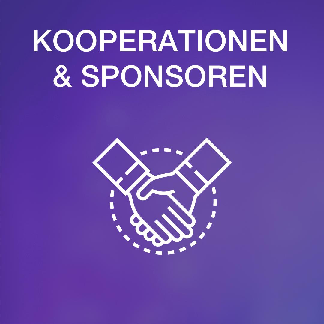 Grafik Kooperationen und Sponsoren mit einebeziehen