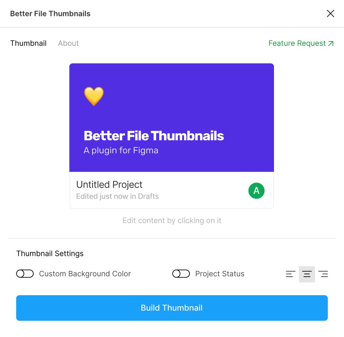Better file thumbnails UI